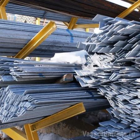Полоса горячеоцинкованная 130х5 мм L=6м ГОСТ 9.307-89